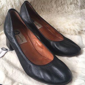 Lanvin EU36 leather pumps